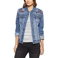Jag Women Lizzy Embroidered Denim Jacket