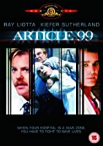 Article 99 [DVD] [Import]