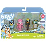 Bluey & Friends, 4 Pack