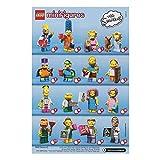 レゴ ミニフィギュア ザ・シンプソンズシリーズ 第2弾 LEGO minifigures the simpsons #71009 全16種フルコンプセット ミニフィグ ブロック 積み木