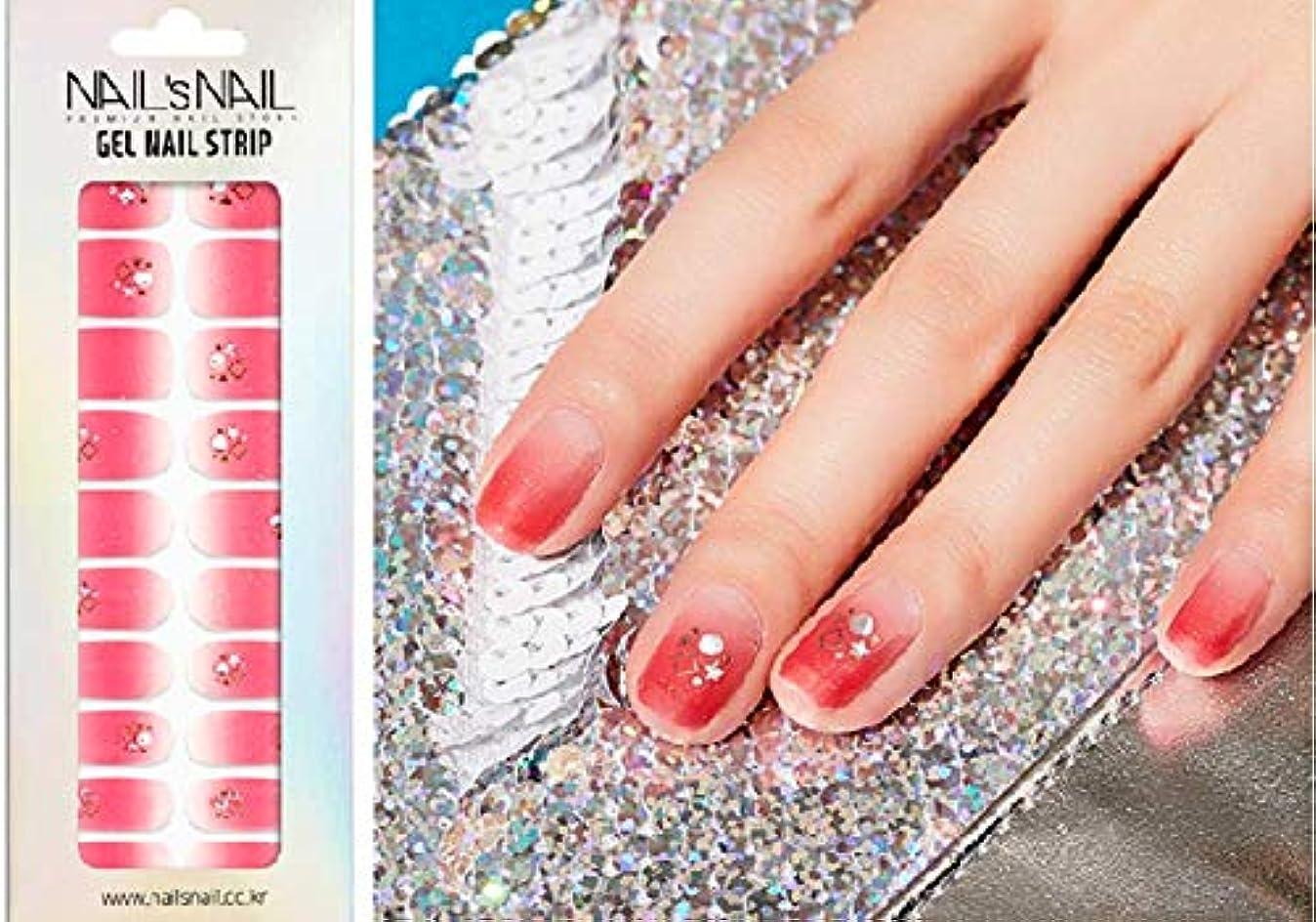 扇動するくそー変動する\貼るジェルネイル/Nail's Nail(ネイルスネイル) ジェルネイルストリップ 139