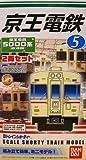 Bトレインショーティー 私鉄シリーズ 京王電鉄 5000系 2両セット プラモデル