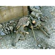 WWⅡ イギリス軍 バンガロール爆薬筒を仕掛ける兵士 フィギュア 2体 [VP2513] 1:35 British Commandos WWⅡ w/ ...