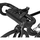 LIXADA 自転車フロントバッグ ハンドルバーバッグ フレームバッグ 保冷保温機能 UVカット 防水 サドルバッグ サイクリング用 飲み物 果物など保存も最適 0.7L/ 2.75L/ 3L