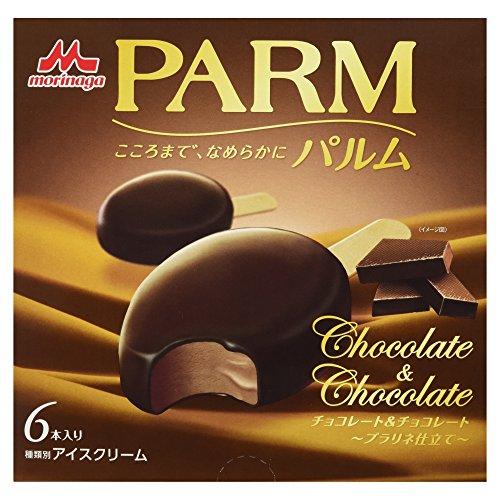 [冷凍] PARMチョコレート&チョコレート プラリネ仕立て 55ml×6