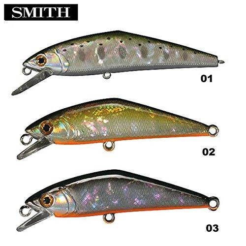 スミス(SMITH LTD) ルアー D-コンタクト50アワビ 1 ヤマメアワビ