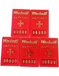 windmill flints ウインドミル ライター用発火石 x5シートセット