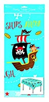 Plastic Table Cover 120cm x 180cm - Boys Pirates Party cloth Birthday Christmas Anytime