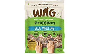 Blue Whiting 750g, Grain Free Hypoallergenic Natural Australian Made Dog Treat Chew, Perfect for Training
