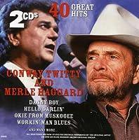 Conway Twitty & Merle Haggard 40 Great Hits