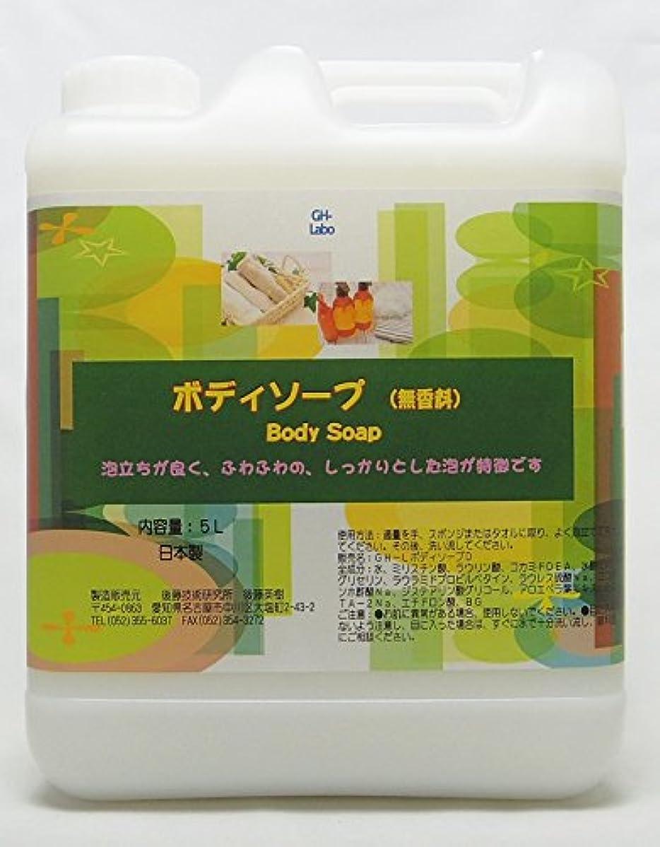 過言乳白解明するGH-Labo 業務用ボディソープ 無香料 5L