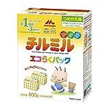 森永 チルミル エコらくパック つめかえ用 800g(400g×2袋)