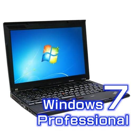 中古ノートパソコン Lenovo ThinkPad X201s 5129-CT0【Windows7 Pro・Core i7・リカバリ機能】