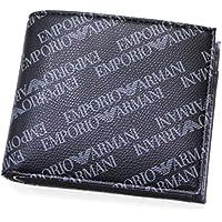 EMPORIO ARMANI(エンポリオアルマーニ) 二つ折り財布 『Y4R167/YLO7E_86526(BOARD/BLACK)』 [並行輸入品]