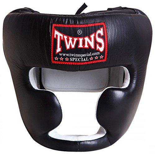 Twins ヘッドギア ブラック(内側ホワイト) Mサイズ