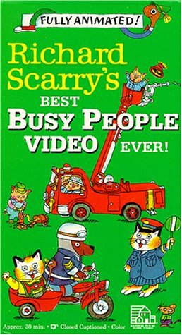 Richard Scarry - Best Busy People Video Ever [VHS] [Import]