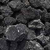 溶岩石 ブラック 50-150mm 10kg