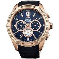 Orient Sportyクォーツ100M Heavyスポーツ時計ローズゴールドuz01006d