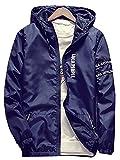 (ネルロッソ) NERLosso マウンテンパーカー メンズ パーカー フード メンズマウンテンパーカー 大きいサイズ 防水 撥水 防寒 ジャケット ブルゾン ジャンパー アウトドア XXXXL ダークブルー cmz24186-XXXXL-dbu