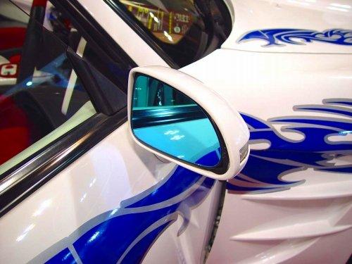 AUTBAHN(アウトバーン) ドアミラーレンズ(ブルー) FE04 456GT