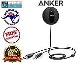 Anker SoundSyncドライブBluetooth 4.0車受信機、ワイヤレス通話&音楽ストリーミング車キットwithマイク内蔵、音楽ストリーミング、エコー、ノイズリダクション、マルチポイントアクセス、3.5?MM Auxケーブル