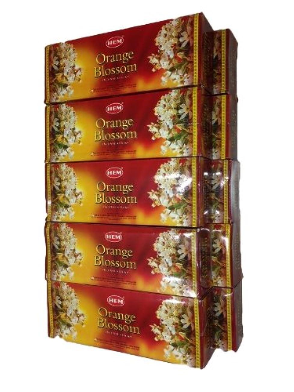 モディッシュバナー思いつくお香スティックタイプ オレンジブラッサム(120本入り×10箱)