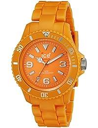 Ice - Watch Women 's CF。OE。u.p.10Classic Fluoオレンジポリカーボネート腕時計