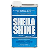 Sheila Shine Stainless Steel Cleaner and Polish 1 Quart Can Sold Indivdually [並行輸入品]