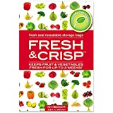 ICD Online Fresh & Crisp Resealable Storage 10 Bags, 10 count, Pack of 10