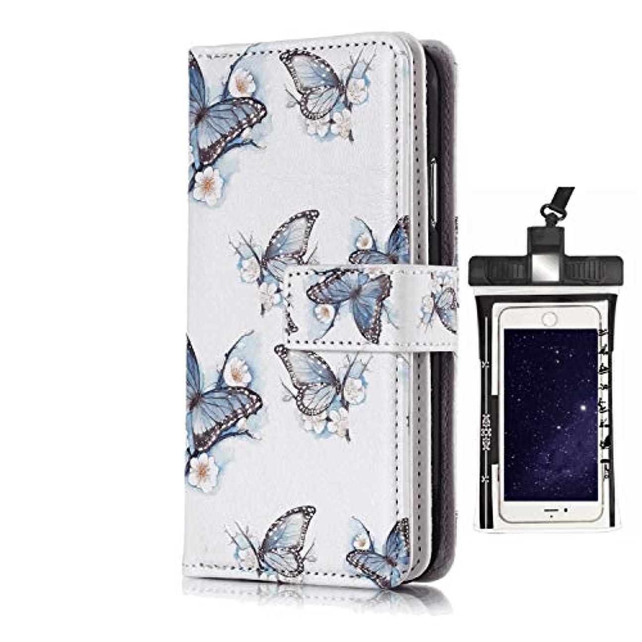 スキャンダル空洞安らぎレザー 手帳型 サムスン ギャラクシー Samsung Galaxy S6 EDGE ケース 本革 カバー収納 財布 高級 ビジネス スマートフォンケース 無料付防水ポーチケース