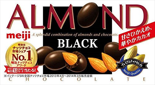 明治 アーモンドブラック 84g×10個