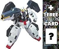 gn-005Gundam Virtue : Gundam 001/ 100モデルキット+ 1Free official Gundam Japanese tradingカードバンドル( g00# 004)