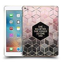 オフィシャルElisabeth Fredriksson Believe 2 タイポグラフィ iPad 9.7 2017 / iPad 9.7 2018 専用ハードバックケース