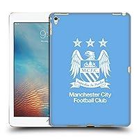 オフィシャルManchester City Man City FC フルホワイト&スカイブルー クレスト iPad Pro 9.7 (2016) 専用ハードバックケース