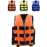 ライフジャケット フローティングベスト 救命胴衣 2-6歳 強い浮力 高い負荷力 Hibote S M 子供用 緊急時に役立つ 漂流 ボート釣 オレンジ S