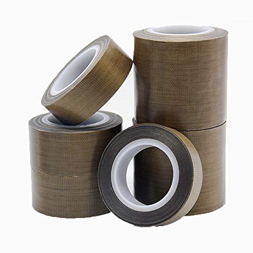 10M耐熱 厚め テフロンテープ 高耐久型 PTFEインパルスシーラー補修などに (幅50mm)