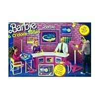 Barbie 6 O'CLOCK NEWS 35 Piece Playset w MAGIC CHANGE SCREEN (1987 Arco Toys, Mattel)