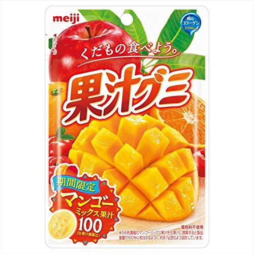 果汁グミ マンゴーミックス 10個