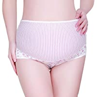 gbsellストライプパターン妊娠マタニティ妊婦用下着ショーツ