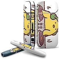 IQOS 2.4 plus 専用スキンシール COMPLETE アイコス 全面セット サイド ボタン デコ 鳥 ひよこ キャラクター 009561