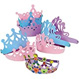 Fun Express Foam Princess Tiaras (1 Dozen) by Fun Express