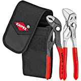 Knipex Tools 00 20 72 V01 Mini Pliers in Belt Pouch, Red, 2-Piece