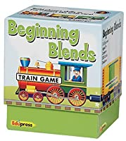 Edupress EP2596 Train Game Beginning Blends, 3' Height, 4.15' Width, 3.5' Length [並行輸入品]