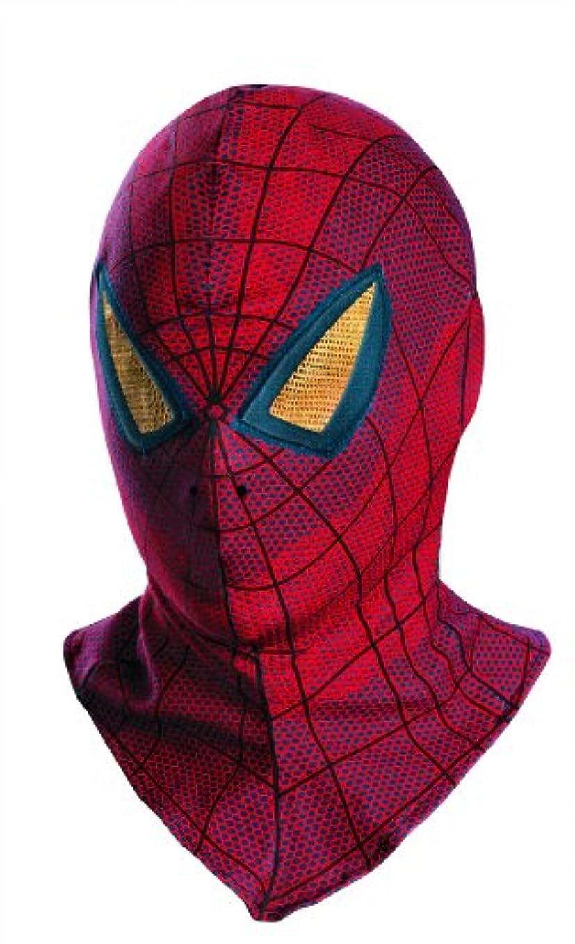 発揮する突然かもめThe Amazing Spider-Man Movie Adult Mask アメージングスパイダーマンのムービー大人用マスク?ハロウィン?サイズ:One-Size
