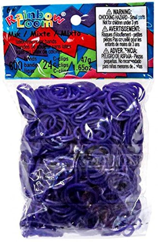 [オフィシャルツイストバンズ]Official Twistz Bandz Rainbow Loom Rubber Bands Official Rainbow Loom 600 Ct. Rubber Band Refill Pack DEEP [並行輸入品]