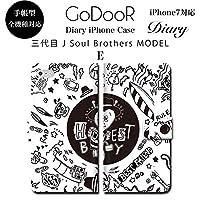 BRAVE CROWN t019 iPhone XS Max XR X 8 7 6s 6 plus プラス SE 5s 5 手帳型 スマホ ケース Xperia Galaxy 全機種対応 ダイアリー ブランド グッズ 3代目 三代目 JSB j soul brothers EXILE TRIBE GENERATIONS