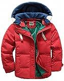 (チーアン)Tiann 子ども ダウンジャケット ダウンベスト ダウンコート 中綿コート キッズ 防寒 フード付き アウター 男の子 冬 ボーイズ