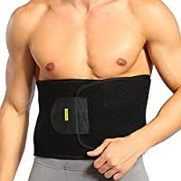 【ダイエット&発汗&トレーニング&運動】腰用コルセット ウエストベルト 体熱を利用した減量ベルト 腰固定サポーター マジックテープ サイズ調節可能