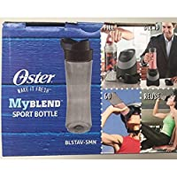 Oster MyBlend Sport Bottle BLSTAV-SMN Gray BPA Free 20 Ounces [並行輸入品]