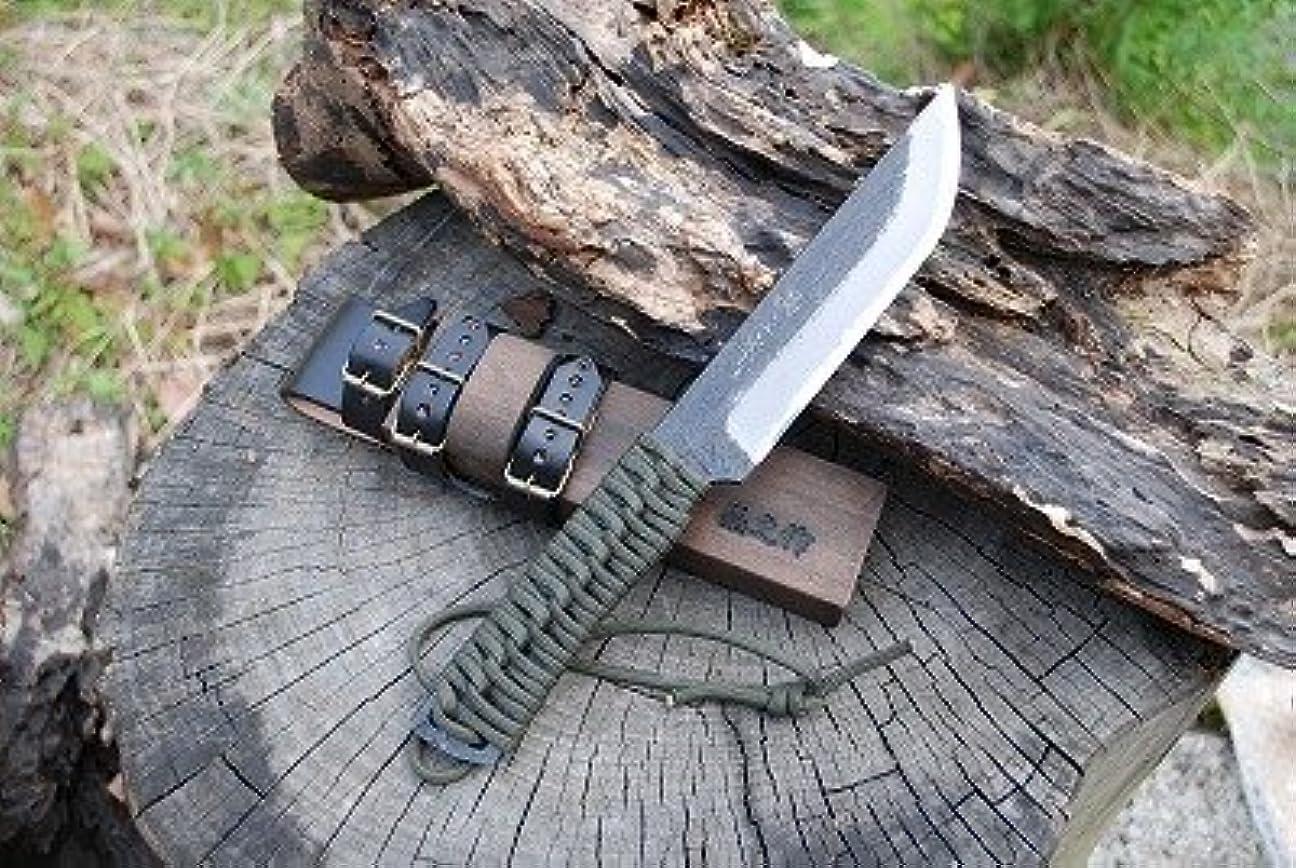 物足りない回復する起きる土佐鍛和式ハンター両刃 128 土佐オリジナル白鋼 0417-004